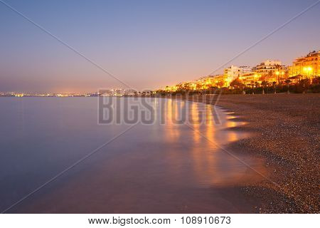 Seafront in Athens.