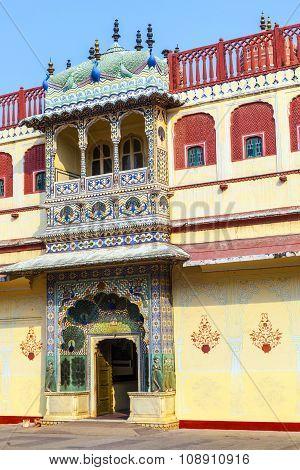 Chandra Mahal In City Palace, Jaipur, India