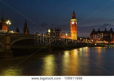 River Thames and Big Ben