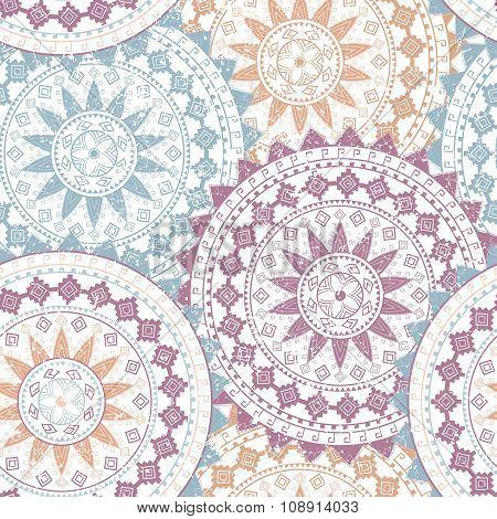 Ornamental Circle Pattern. Mandala. Tribal, Ethnic, African Design