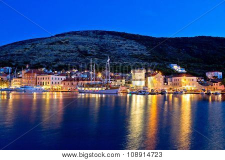 Island Of Vis Evening View
