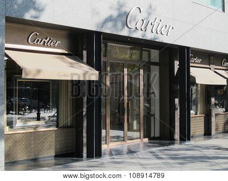 Cartier Store In Barcelona