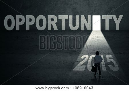 Child With Opportunity Door And Number 2015