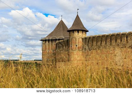 Old castle Khotyn in Ukraine