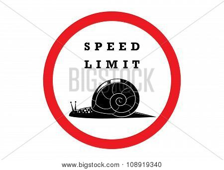 sign speed limit.