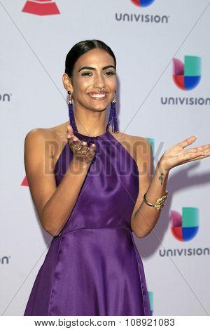 LAS VEGAS - NOV 19:  Manu Manzo at the 16th Latin GRAMMY Awards at the MGM Grand Garden Arena on November 19, 2015 in Las Vegas, NV