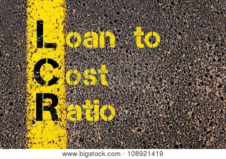 Business Acronym Lcr As Loan To Cost Ratio