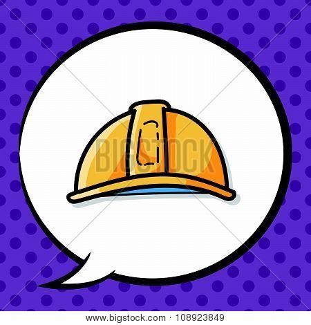 Engineer Helmet Color Doodle