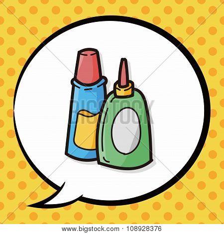 Glue Color Doodle