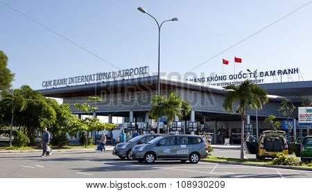 CAM RANH, VIETNAM - NOVEMBER 21, 2015: The Cam Ranh International Airport