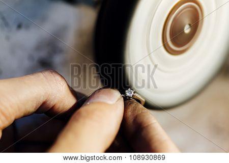 Jewelery Polishing Ring