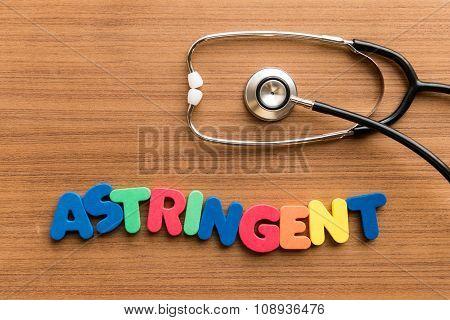 Astringent