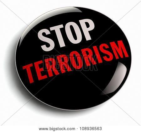 Stop Terror Campaign Badge