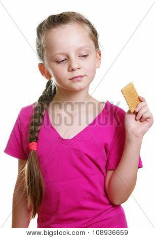 Girl With Cracker