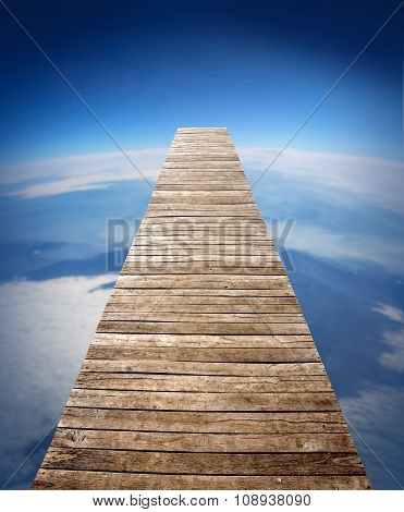Wooden Walk Way