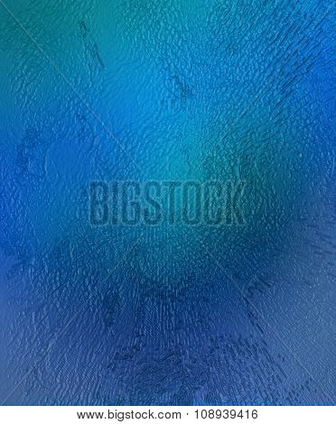 Color abstract background, Water and glass effect.