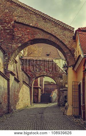 Street View, Sibiu, Romania