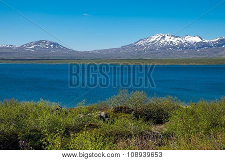 Lake Thingvallavatn in Iceland