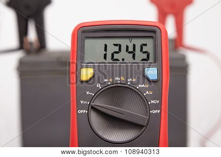 Car Battery Voltage