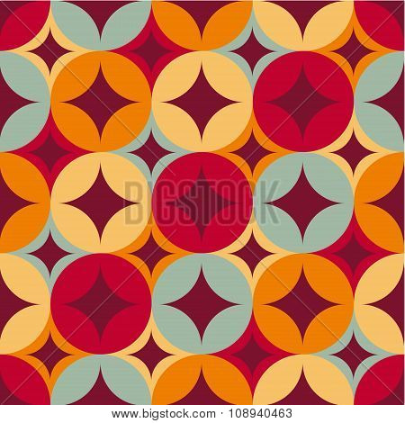 Seamless  pattern. Ethnic geometric print.