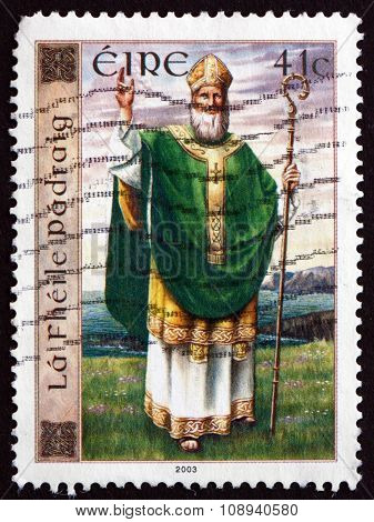 Postage Stamp Ireland 2003 St. Patrick