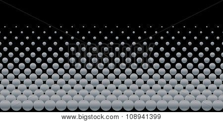 Grey Ball Background