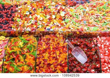 Colorful candy at the Grand Bazaar