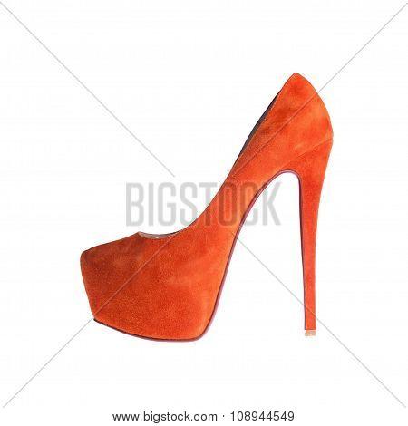 Women's Orange Shoes