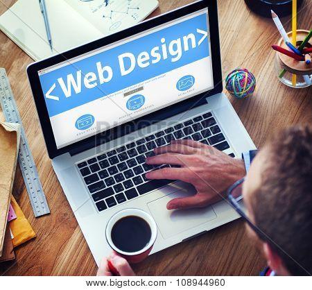 Website Internet Technology Online Connection Concepts