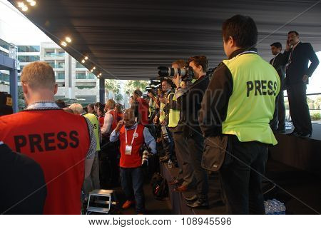 International Press Members