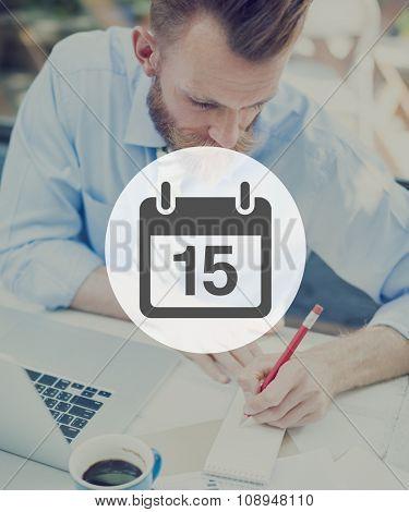 Calendar Agenda Day Holiday Plan Concept