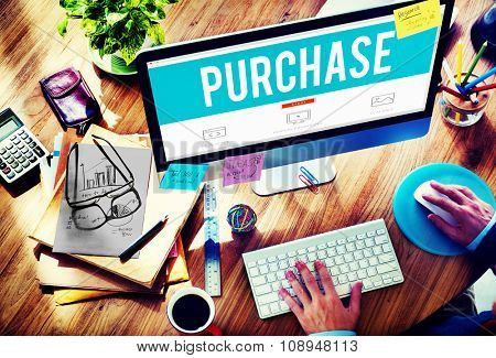 Purchase Marketing Retail Shopping Buying Concept