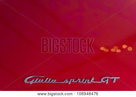 Alfa Romeo Giulia Sprint Gt Emblem