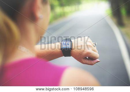 Activity Cardio Control Digital Mobility Exercise Athlete Concept