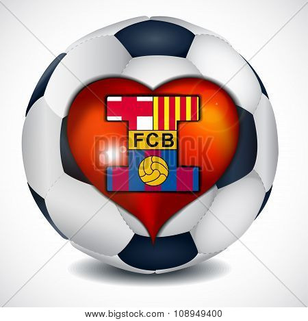 I love football club barcelona.