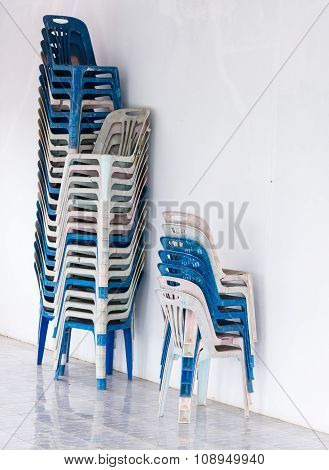 Old Plastic Chairs