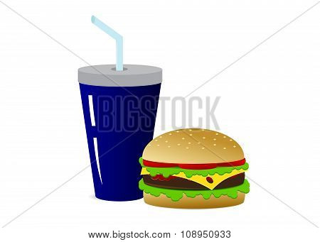 icon for fast food.
