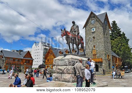 Main Square In San Carlos De Bariloche