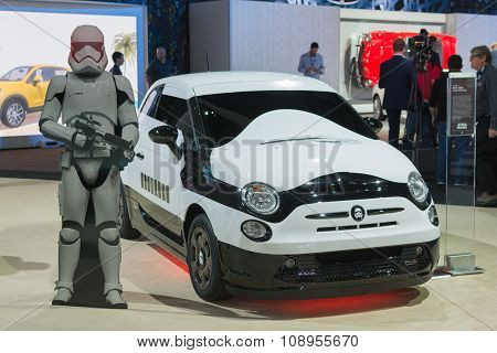 Fiat 500C Storm Trooper