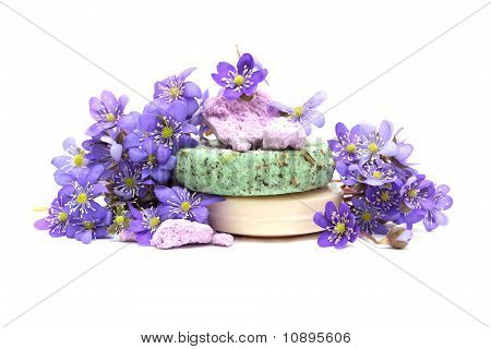 Organic Herbal Soap, Shampoo And Dry Flower
