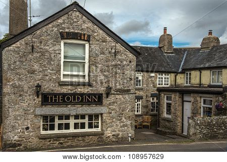 Rural Pub Old Inn, Widecombe In The Moor, Newton Abbot, Devon, England