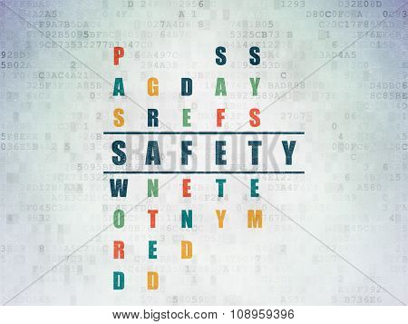 Protection concept: Safety in Crossword Puzzle