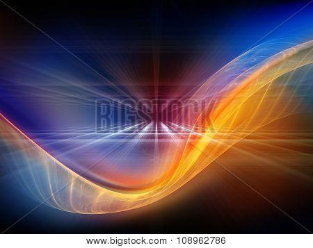 Metaphorical Light Waves