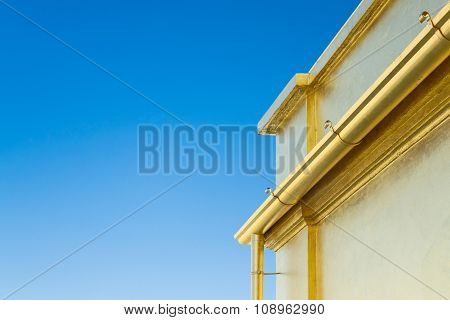 Edge Of The Roof Of A House