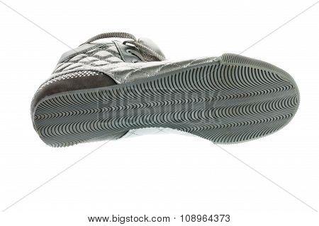 Shoe Sole, Silver Sports Footwear