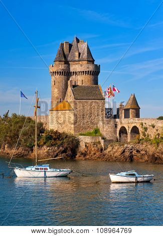 Solidor Tower, Saint-malo, Brittany, France
