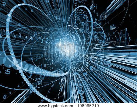 Digital Wave Particle