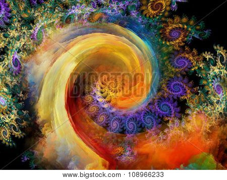 Realms Of Spiral Pattern