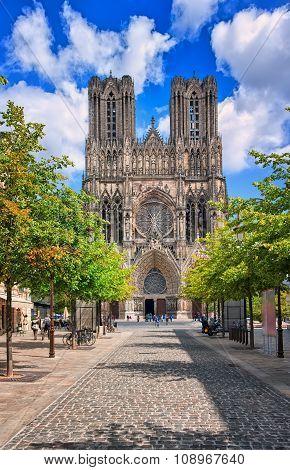 Notre Dame De Reims Cathedral, France