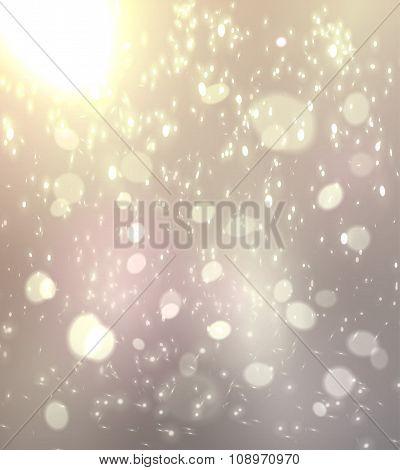 Festive blur background.